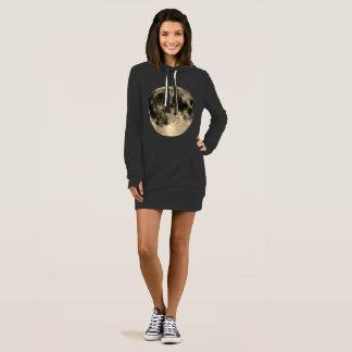 Vestido Círculos de oro de la cosecha de la luna