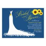 Vestido de boda nupcial del girasol de la comunicado personalizado