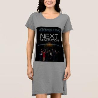 Vestido de la camiseta de la generación siguiente