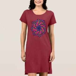 Vestido de la camiseta de las mujeres de encargo