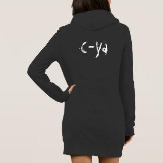 Vestido de la sudadera de C-Ya
