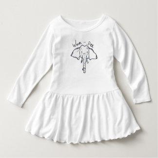 Vestido de niña pequeña WAN-Dee