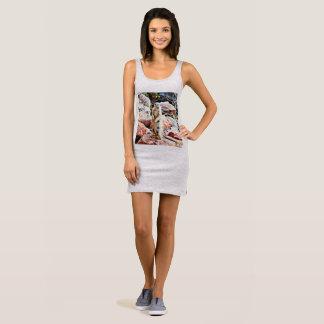 ¿Vestido del tanque del jersey de las mujeres