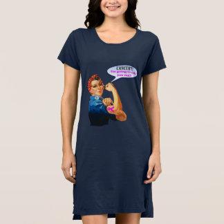 Vestido Diseño de la caridad del cáncer de pecho de Rosie