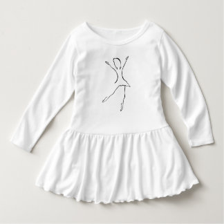 Vestido Diseño de la danza del ballet