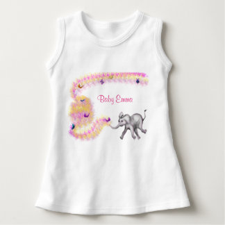 Vestido dulce de Sleveless del bebé - Fanti