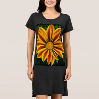 Vestido Foto anaranjada hermosa de la flor de Sun
