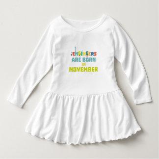 Vestido Los ingenieros son en noviembre Za7ra nacidos