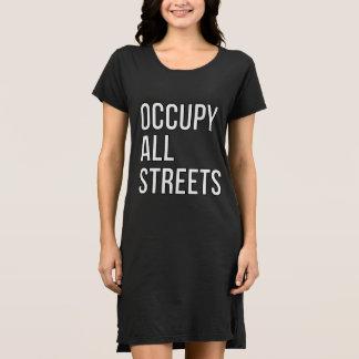 Vestido Ocupe todas las calles