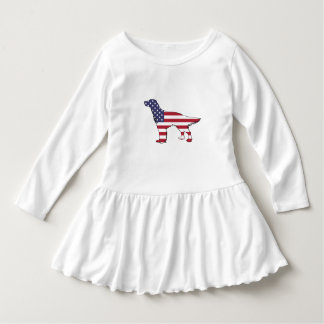 """Vestido Organismo inglés - """"bandera americana """""""