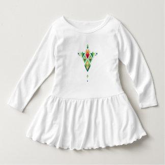 Vestido Ornamento azteca tribal étnico del vintage