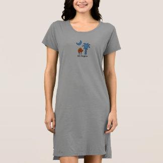 Vestido para mujer de la camiseta