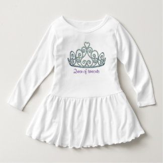 Vestido Pequeña Srta. Queen