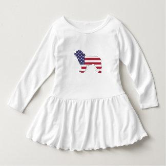 """Vestido Perro de Terranova - """"bandera americana """""""