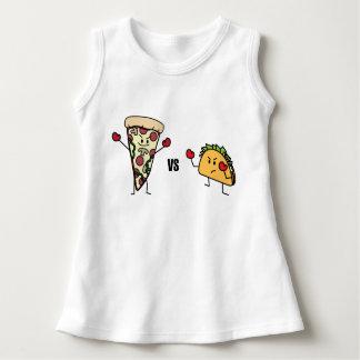 Vestido Pizza de salchichones CONTRA el Taco: Mexicano
