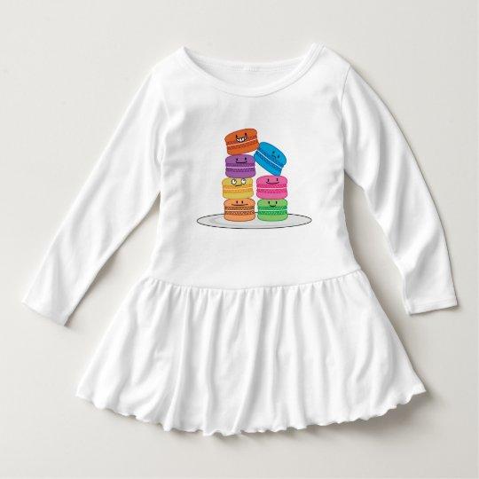 Vestido Postre dulce francés de la galleta de los