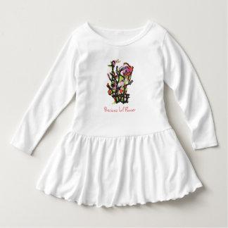 Vestido precioso del niño de la flor de Lil