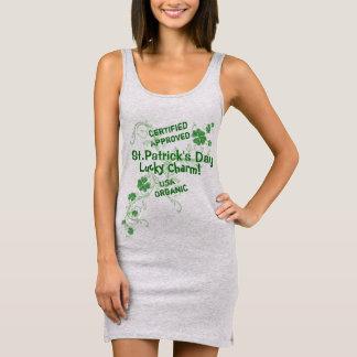 Vestido Sin Mangas Encanto afortunado irlandés lindo. El día de St