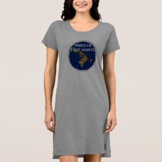 Vestido Tierra plana bíblica