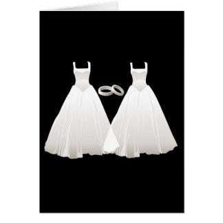 Vestidos Tarjeta De Felicitación