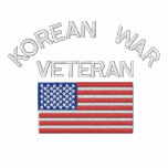 Veterano de Guerra de Corea con militares de la Sudadera Con Capucha