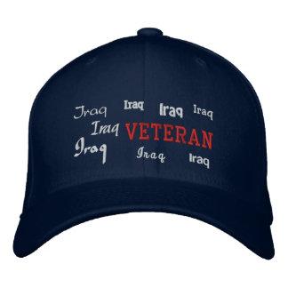 Veterano de Iraq - gorra bordado Gorra De Béisbol