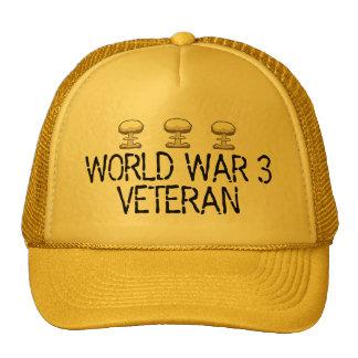 Veterano de la guerra mundial 3 gorra
