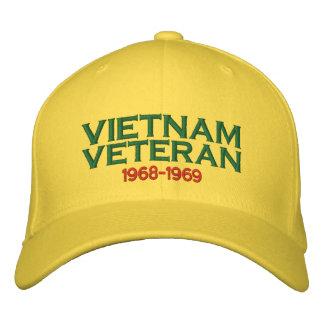 Veterano de Vietnam Gorra Bordada