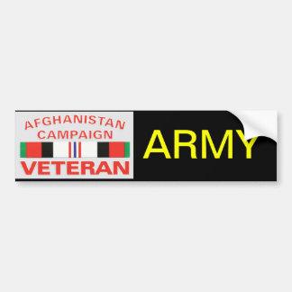 Veterano del ejército pegatina para coche