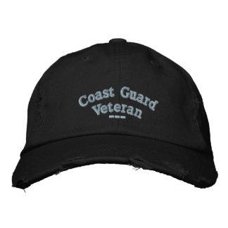 Veterano del guardacostas gorra bordada