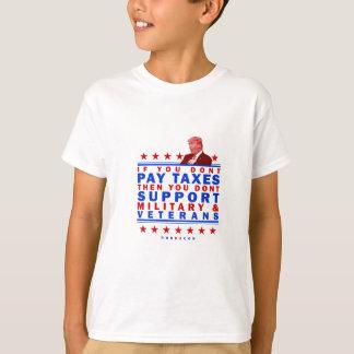 Veteranos de la ayuda camiseta