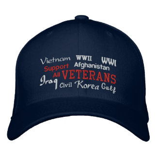 Veteranos de la ayuda - gorra bordado gorra de béisbol bordada