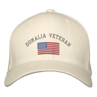 Veterinario de SOMALIA con la bandera americana Gorras Bordadas
