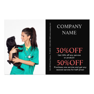veterinario lindo del servicio del mascota de los  tarjetones