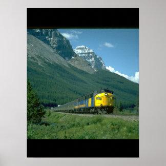 Vía el tren #2_Trains de las ventajas de FP-7 Póster