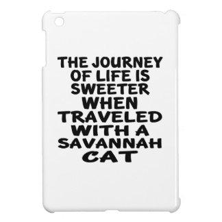 Viajado con el gato de la sabana