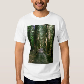 Viajando las maderas camiseta