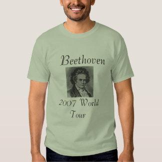 Viaje 2007 del mundo de Beethoven Camisetas