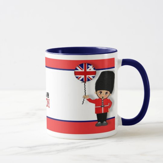 Viajé a la taza de Londres