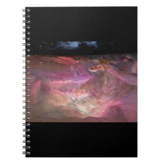 Viaje a través del cuaderno de la nebulosa de