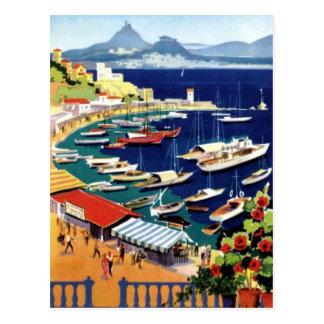 Viaje Atenas Grecia del vintage Postal