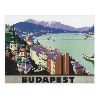 Viaje Budapest Hungría del vintage Postal