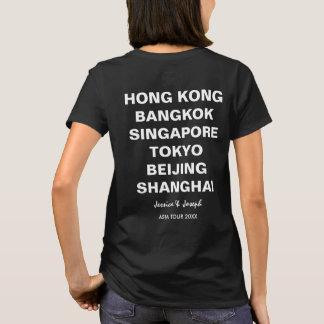 Viaje ciudad del personalizado de Hong Kong, Camiseta