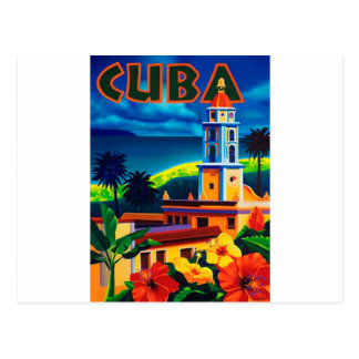 Viaje de Cuba del vintage Postal