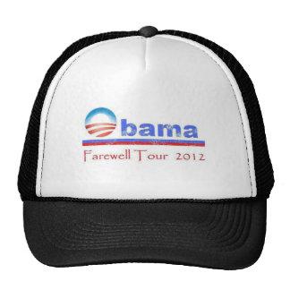Viaje de despedida 2012 de Obama Gorros Bordados
