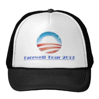 Viaje de despedida 2012 de Obama Gorro De Camionero
