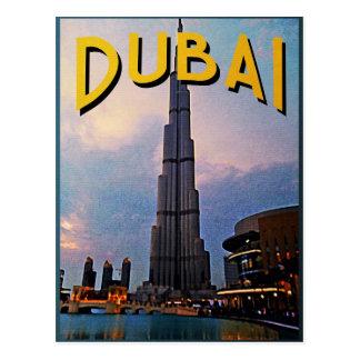 Viaje de Dubai Tarjetas Postales