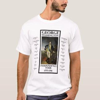 Viaje de la independencia de George Washington Camiseta