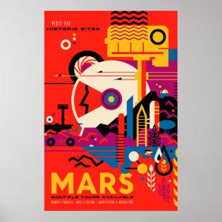 Viaje de Marte Póster