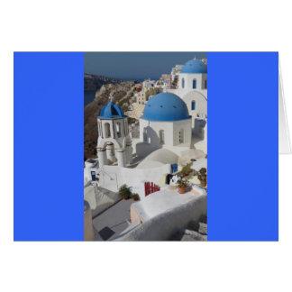 Viaje de Mykonos Grecia Tarjeta De Felicitación